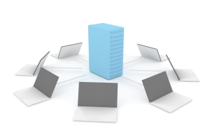 PC-to-Server Concept - FreeImages.com 1439271_12735323