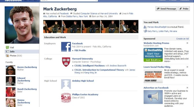 Your Facebook profile = Your biggest security loophole